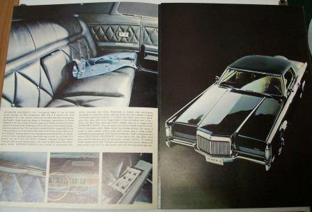 1958 to 1988 Lincoln Sales Brochures