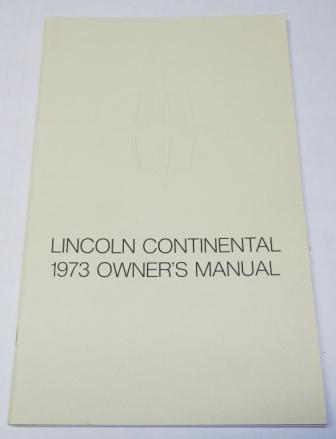 lincoln owners manuals rh classiquecars com 1999 Lincoln Continental 2005 Lincoln Continental