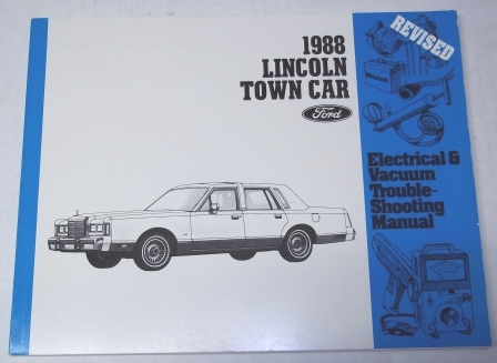 service manual pdf 1988 lincoln town car repair manual. Black Bedroom Furniture Sets. Home Design Ideas